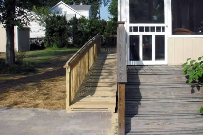 new wheelchair ramp